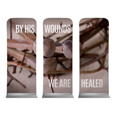 By His Wounds Banner