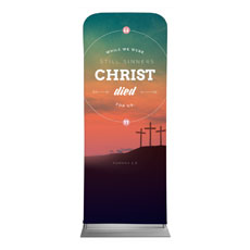Christ Died For Us Banner