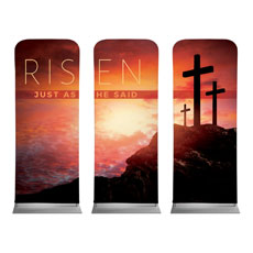 Risen Crosses Triptych