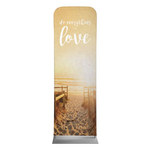 Photo Scriptures 1 Cor 16:14 2 x 6 Sleeve Banner