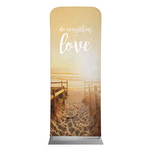 "Photo Scriptures 1 Cor 16:14 2'7"" x 6'7"" Sleeve Banners"