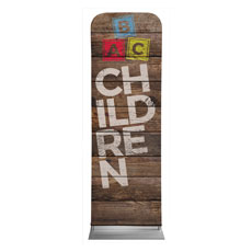 Shiplap Children Natural Banner