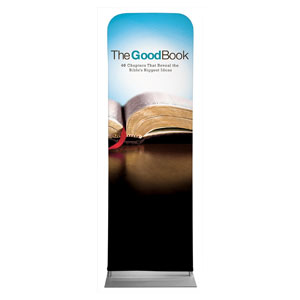 The Good Book 2 x 6 Sleeve Banner