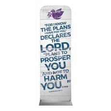 Shiplap Jeremiah 29:11 White Banner