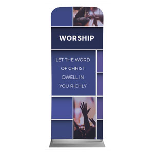 Mid Century Worship Banners