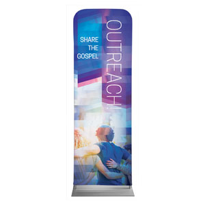 Modern Mosaic Outreach 2 x 6 Sleeve Banner