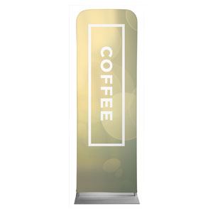 Shimmer Coffee 2 x 6 Sleeve Banner