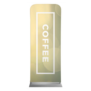 Shimmer Coffee Banners