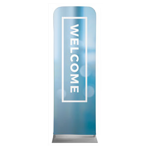 Shimmer Welcome 2 x 6 Sleeve Banner