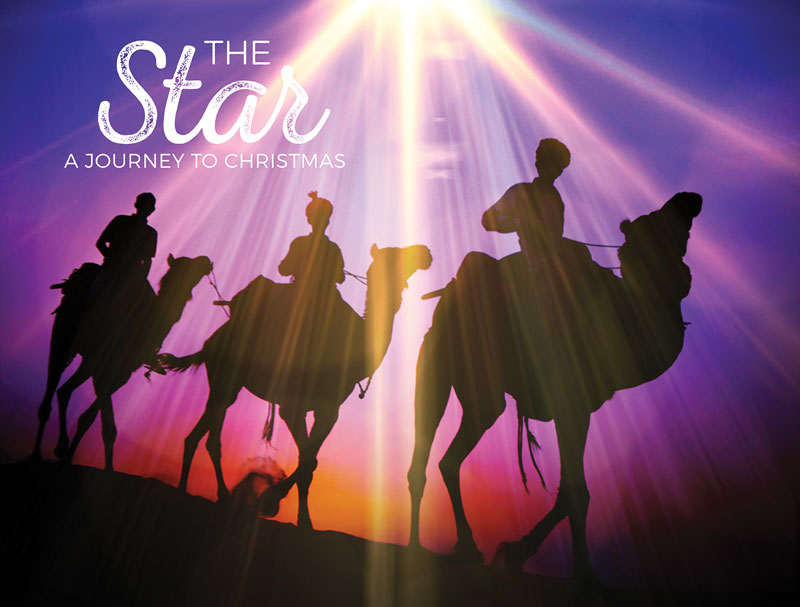 The Star A Journey To Christmas Banner Church Banners