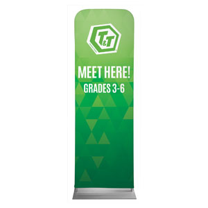 Awana T and T 2 x 6 Sleeve Banner