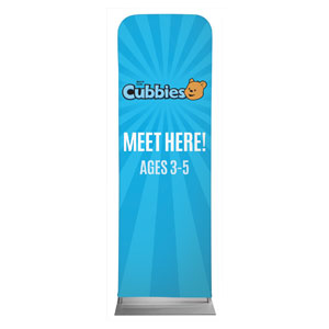 Awana Cubbies 2 x 6 Sleeve Banner