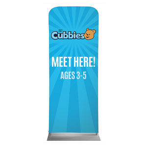 "Awana Cubbies 2'7"" x 6'7"" Sleeve Banners"