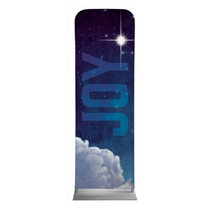 Joy Clouds 2 x 6 Sleeve Banner