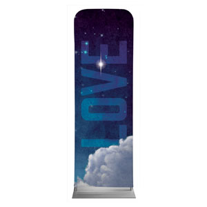 Love Clouds 2 x 6 Sleeve Banner