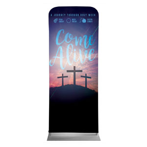 "Come Alive Easter Journey 2'7"" x 6'7"" Sleeve Banners"