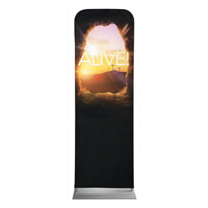 Alive Sunrise Tomb 2 x 6 Sleeve Banner