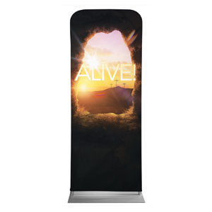 "Alive Sunrise Tomb 2'7"" x 6'7"" Sleeve Banners"