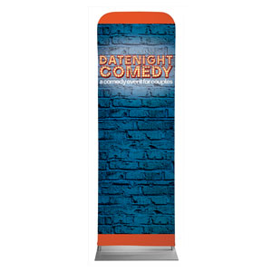 Date Night Comedy 2 x 6 Sleeve Banner