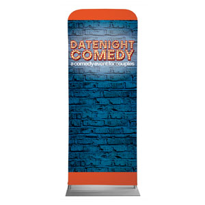 "Date Night Comedy 2'7"" x 6'7"" Sleeve Banners"
