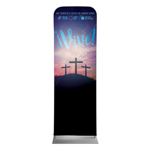 Come Alive Easter Journey Spanish 2 x 6 Sleeve Banner