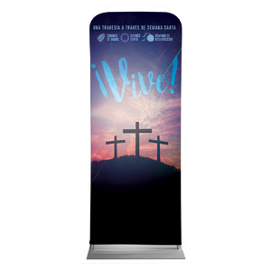 "Come Alive Easter Journey Spanish 2'7"" x 6'7"" Sleeve Banners"