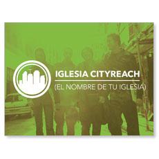 CityReach Urban Green Spanish Banner