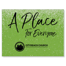 CityReach Green Pebble Fade Place Banner