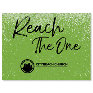 CityReach Green Pebble Fade Reach Banners