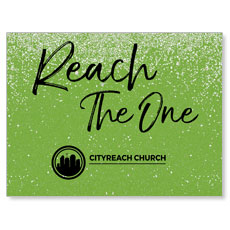CityReach Green Pebble Fade Reach Banner