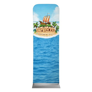 Shipwrecked 2 x 6 Sleeve Banner
