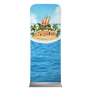 "Shipwrecked 2'7"" x 6'7"" Sleeve Banners"