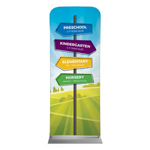 "Bright Meadow Directional 2'7"" x 6'7"" Sleeve Banners"