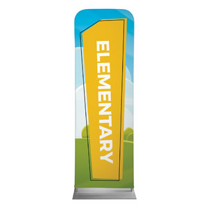 Bright Meadow Elementary 2 x 6 Sleeve Banner