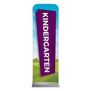 Bright Meadow Kindergarten 2 x 6 Sleeve Banner