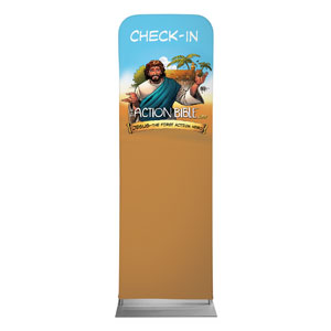 The Action Bible VBS Check In Banners