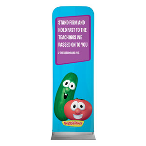 VeggieTales 2 Thes 2:15 Banners