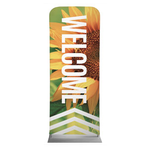 "Chevron Welcome Summer 2'7"" x 6'7"" Sleeve Banners"