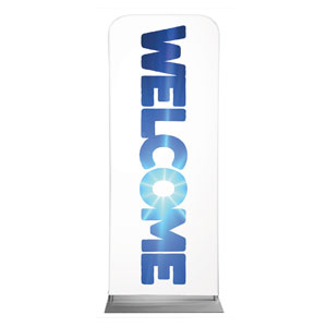"Welcome Sky 2'7"" x 6'7"" Sleeve Banners"