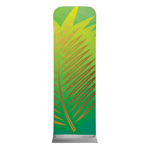 Bold Iconography Palm Branch 2 x 6 Sleeve Banner