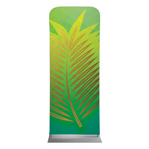 "Bold Iconography Palm Branch 2'7"" x 6'7"" Sleeve Banners"