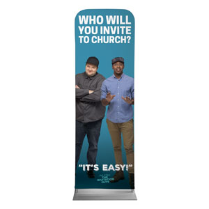 Josh and Steve 2 x 6 Sleeve Banner
