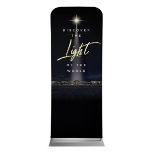 "Discover Light of World 2'7"" x 6'7"" Sleeve Banners"