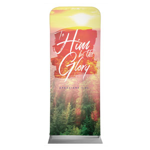 "Beautiful Praise Be The Glory 2'7"" x 6'7"" Sleeve Banners"