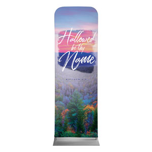 Beautiful Praise Hallowed Name 2 x 6 Sleeve Banner