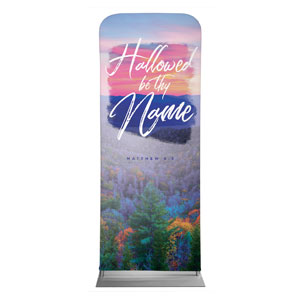 "Beautiful Praise Hallowed Name 2'7"" x 6'7"" Sleeve Banners"