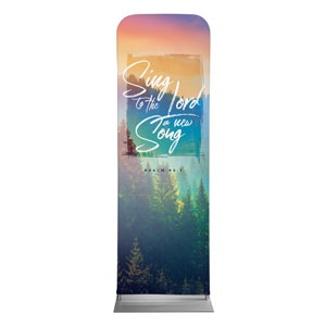 Beautiful Praise Sing to the Lord 2 x 6 Sleeve Banner