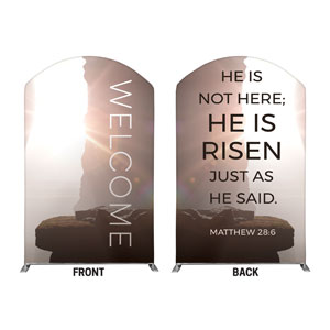 Empty Tomb Open 5' x 8' Curved Top Sleeve