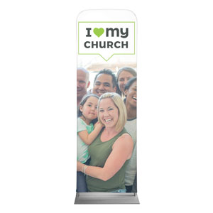 ILMC Believe Love Serve 2 x 6 Sleeve Banner