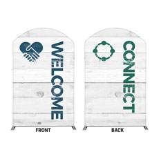 Shiplap Welcome Connect White